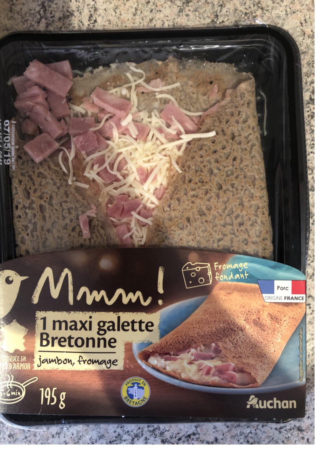 galettes bretonnes auchan